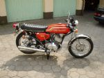 KAWASAKI - H1 - COMPLETE SET - TRANSFERS - 1972 - PEARL CANDY ORANGE MODEL - D57008